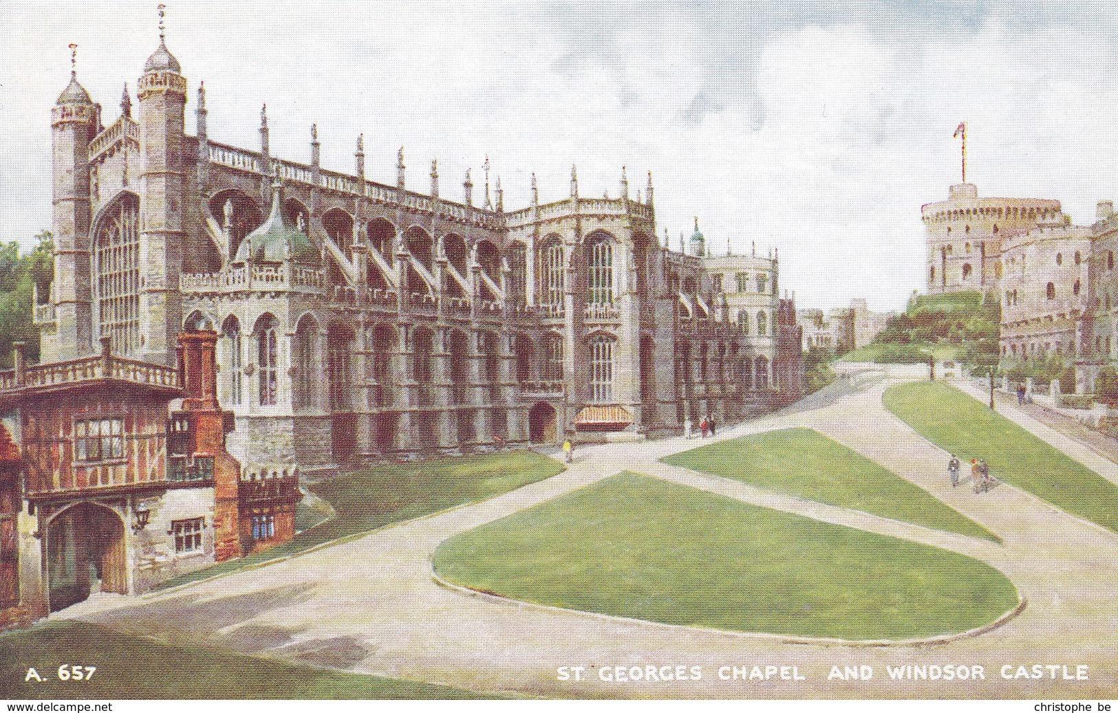 St Georges Chapel And Windsor Castle (pk34499) - Windsor Castle