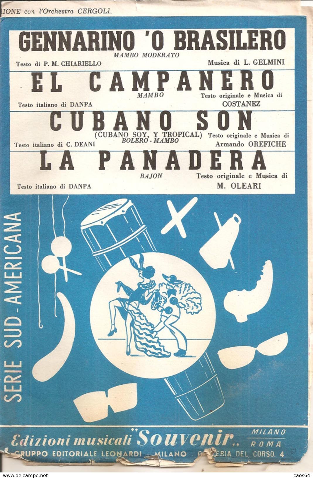 SERIE SUD AMERICA - Musica Popolare