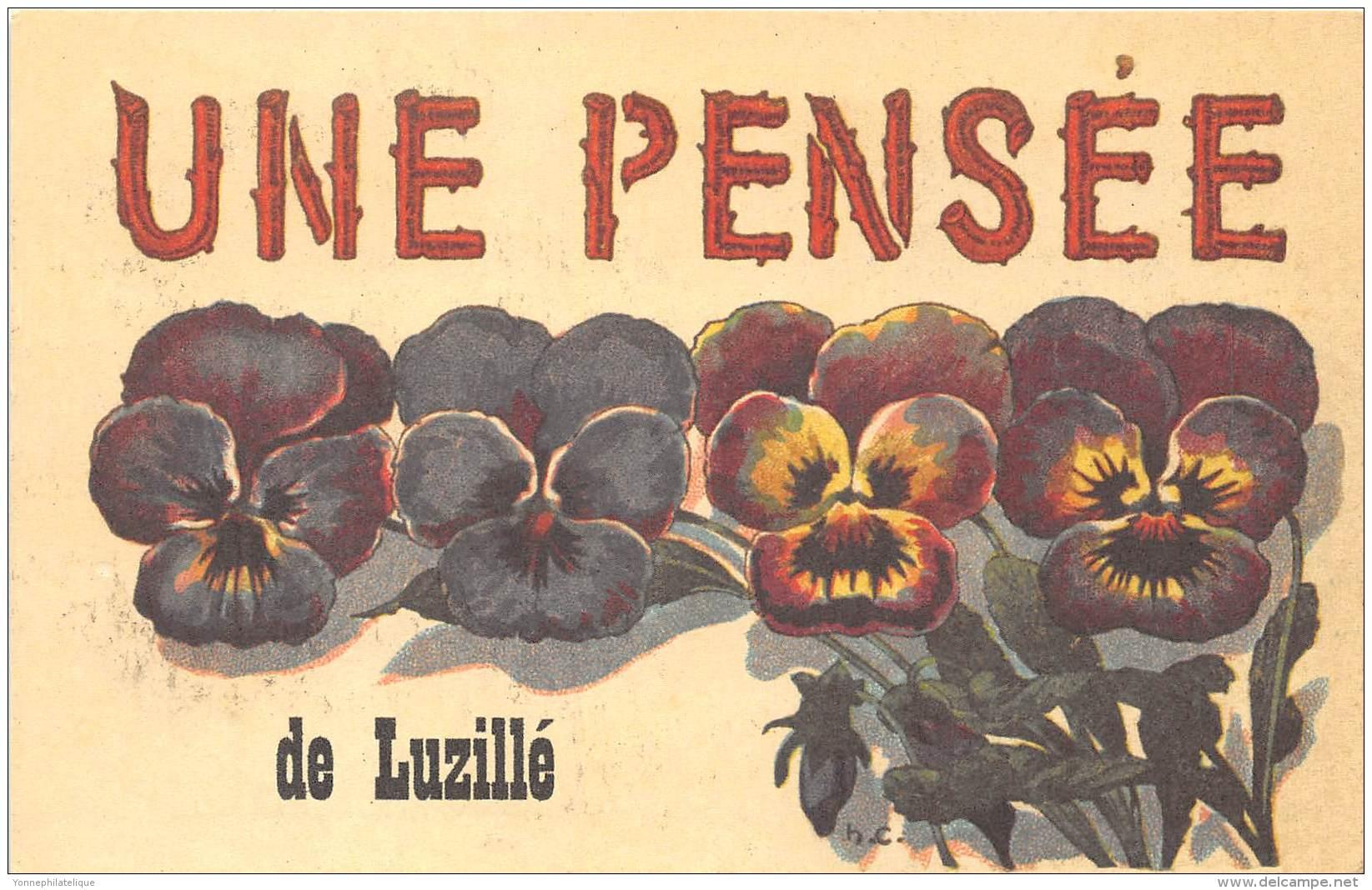 37 - INDRE ET LOIRE / Fantaisie Moderne - CPM - Format 9 X 14 Cm - LUZILLE - France