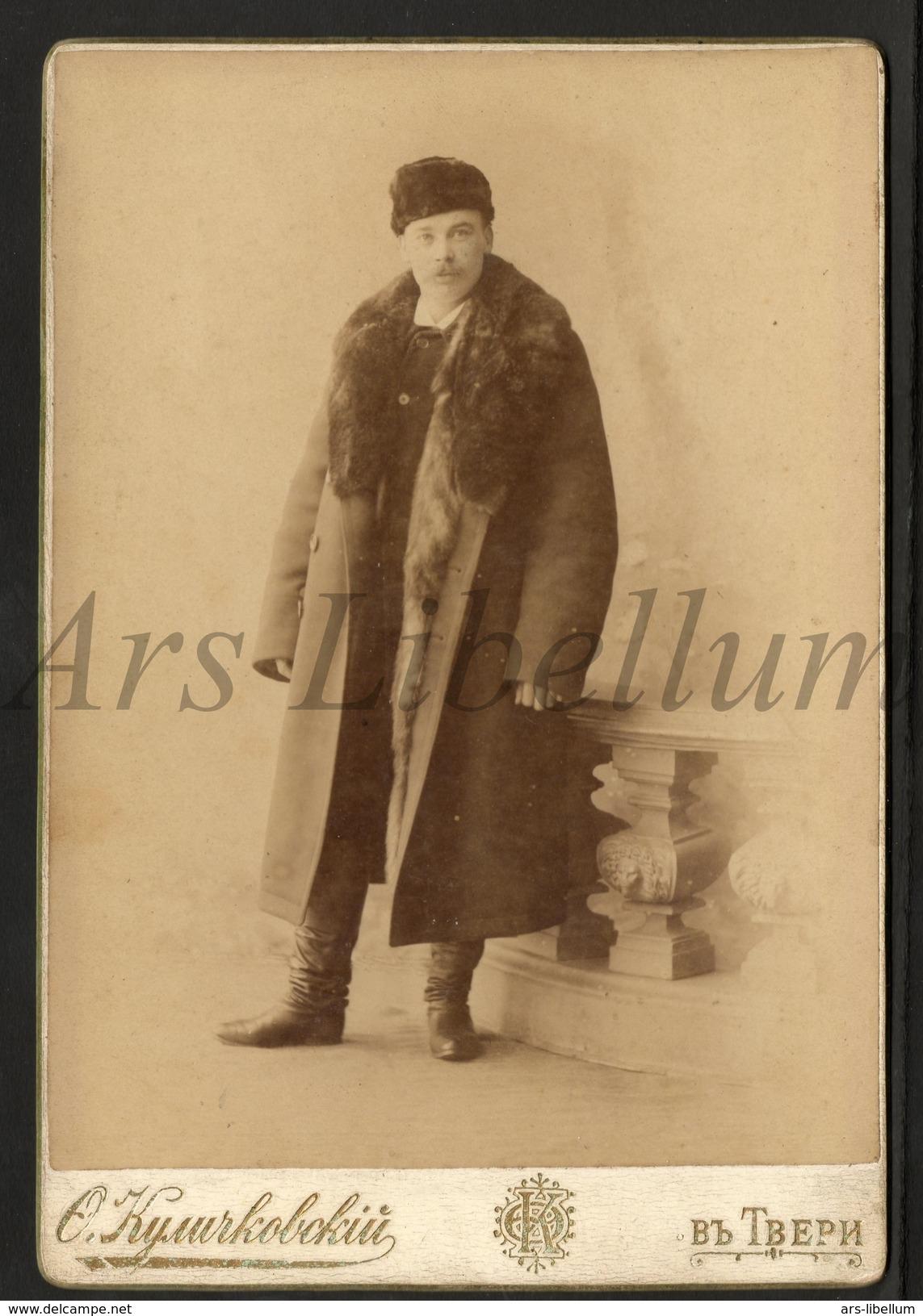 Cabinet Card / Photo De Cabinet / Kabinet Foto / W / Homme / Man / Photo / Russia - Anciennes (Av. 1900)