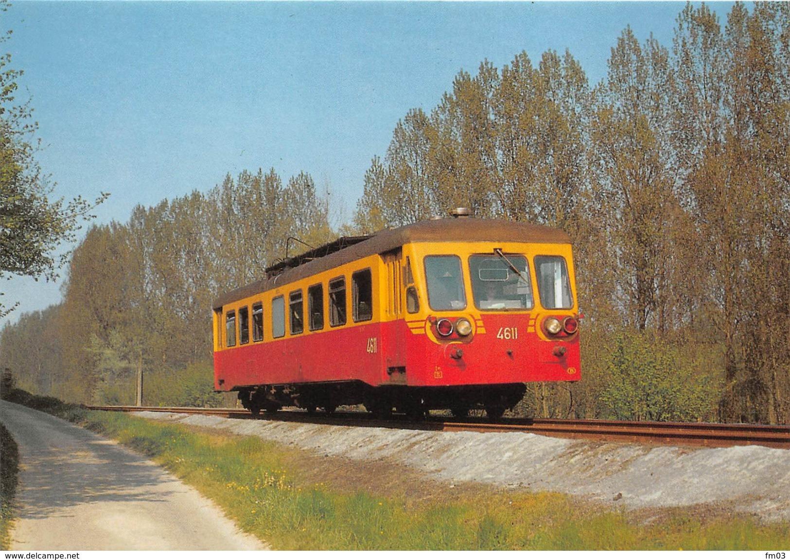 Braine Le Comte Henripont Train Autorail - Braine-le-Comte