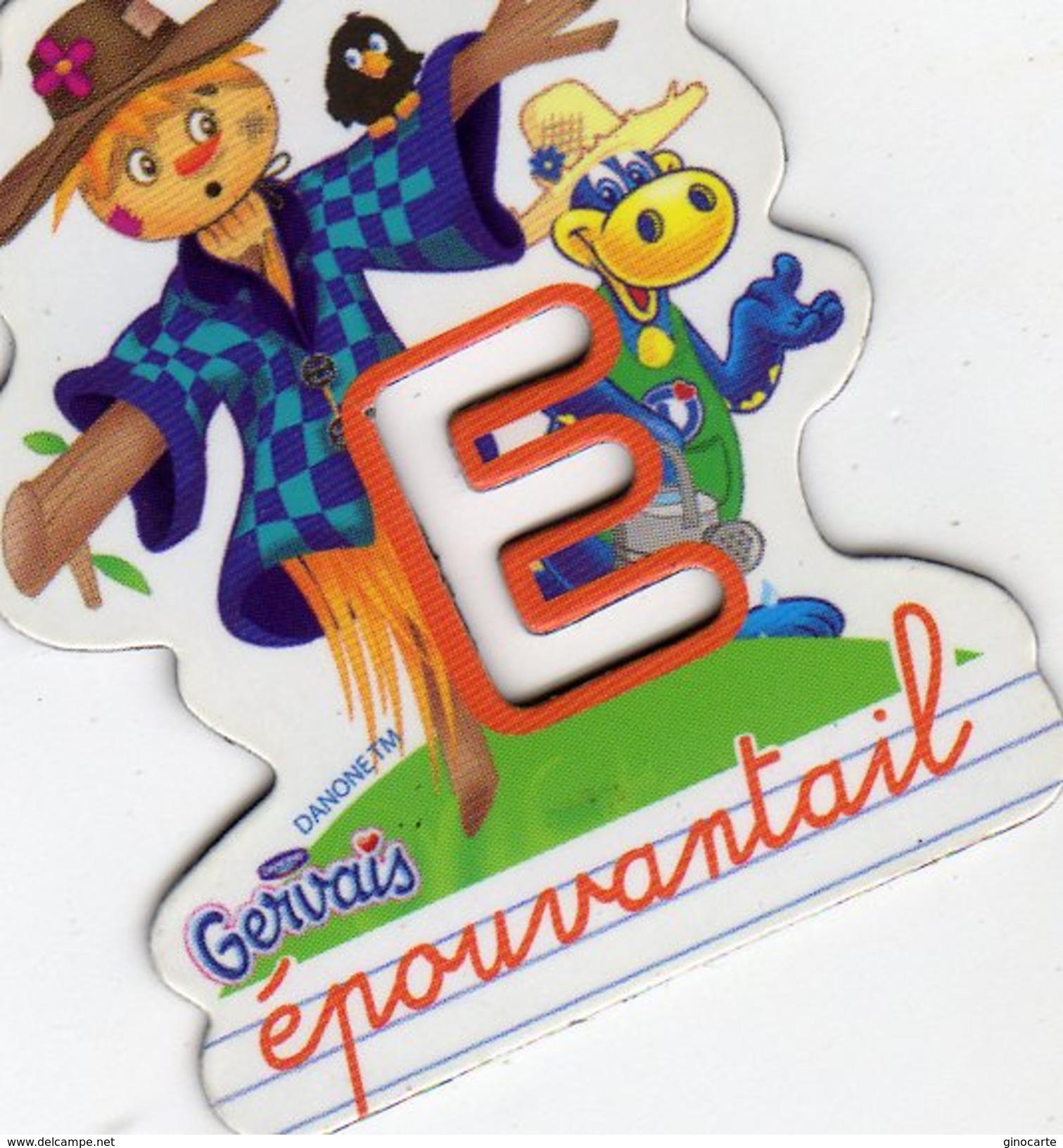 Magnets Magnet Alphabet Gervais E Epouventail - Letters & Digits