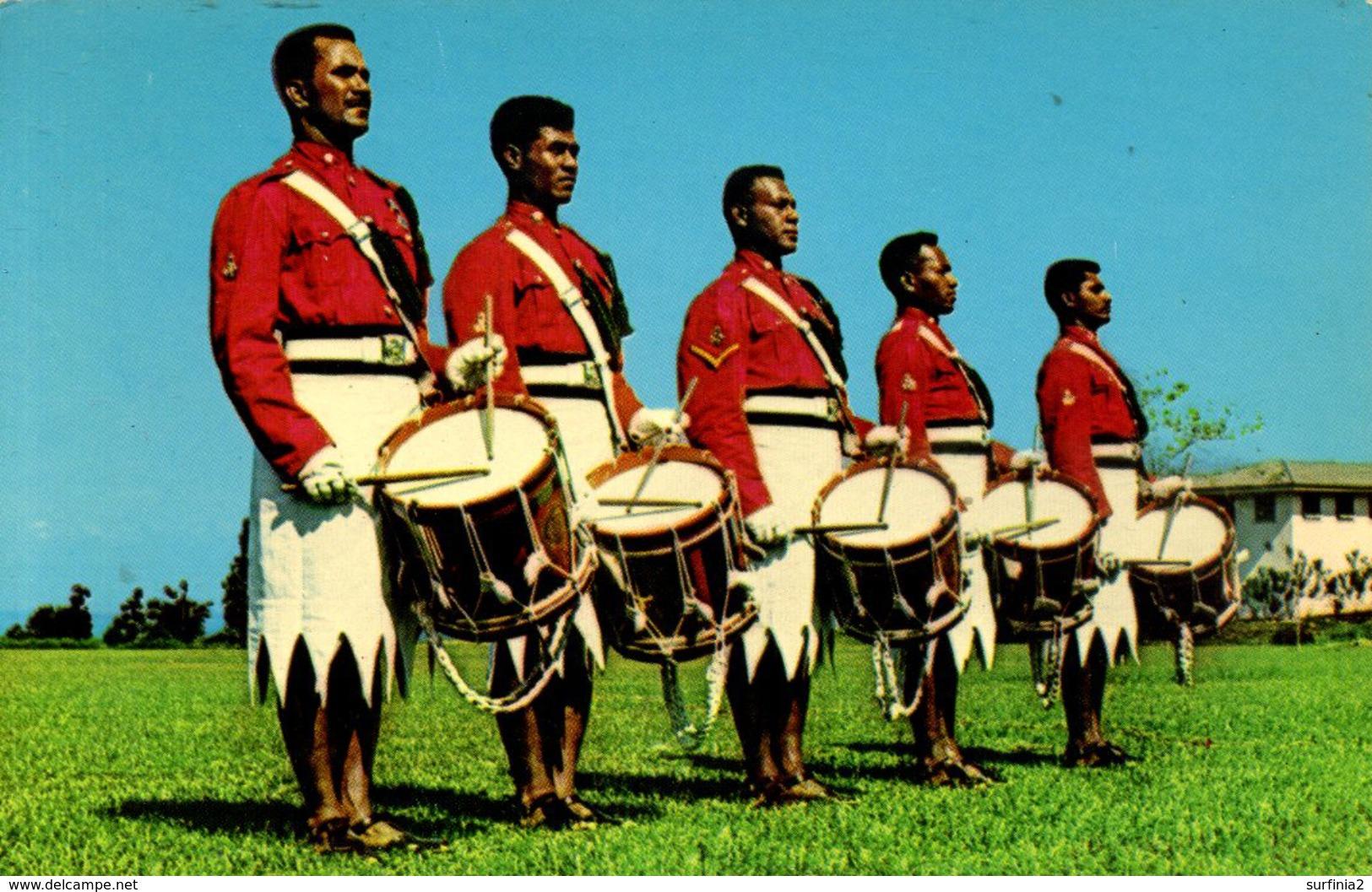 FIJI - DRUMMERS - PROBABLY 1960s - Figi