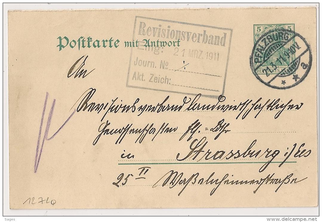 PFALZBURG. POSTKARTE. 1911. - Germany