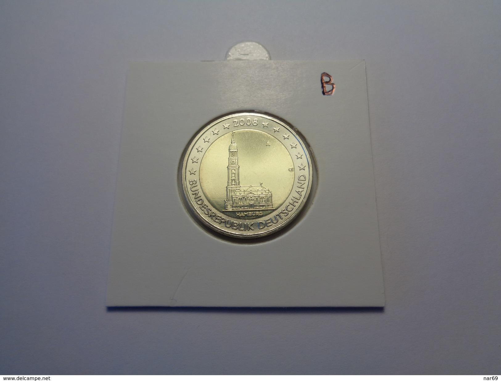 ===== 2 Euros Commémo Allemagne 2008 A état NEUF ===== - Germania