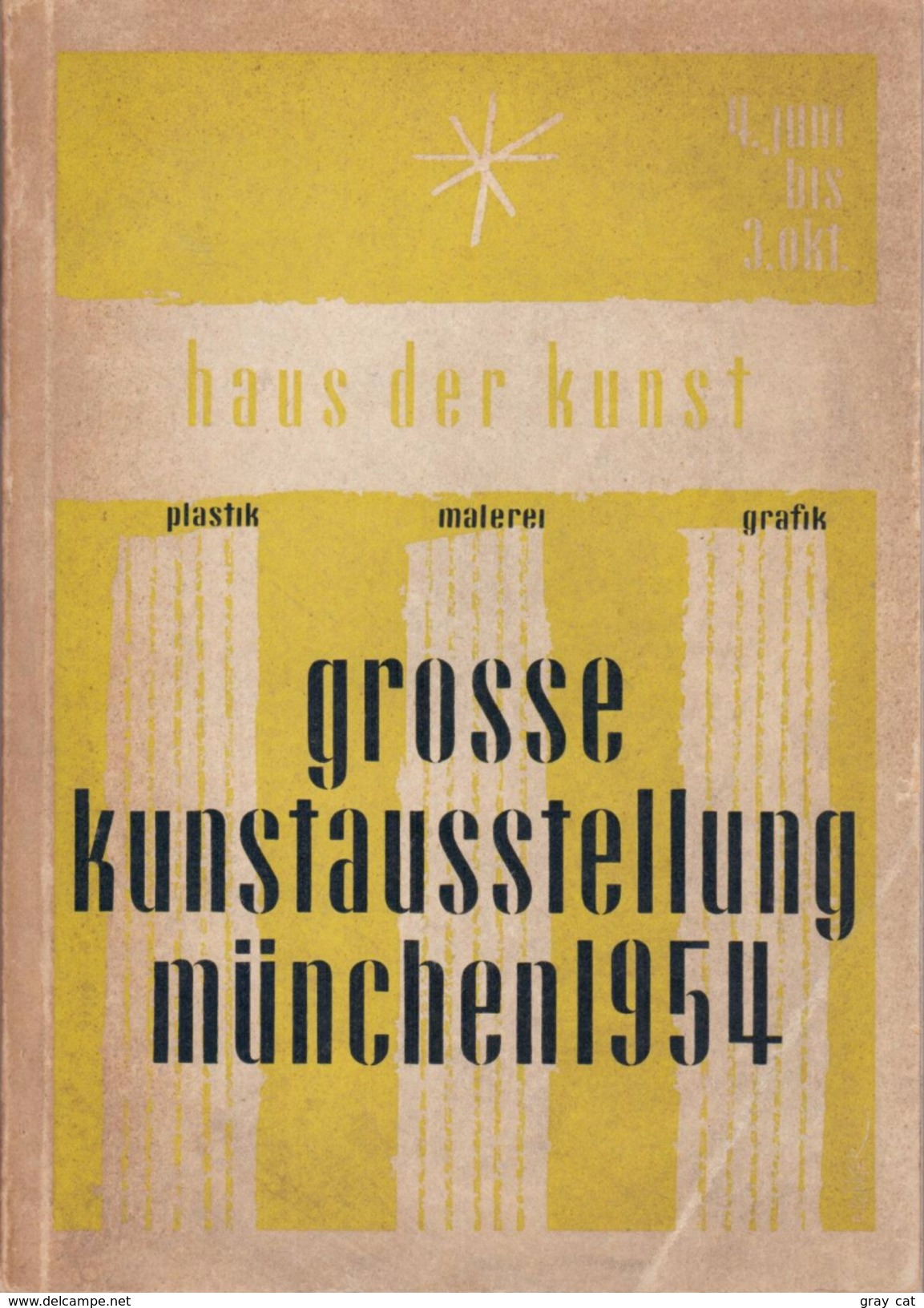 Grosse Kunstausstellung München 1954 - Books, Magazines, Comics