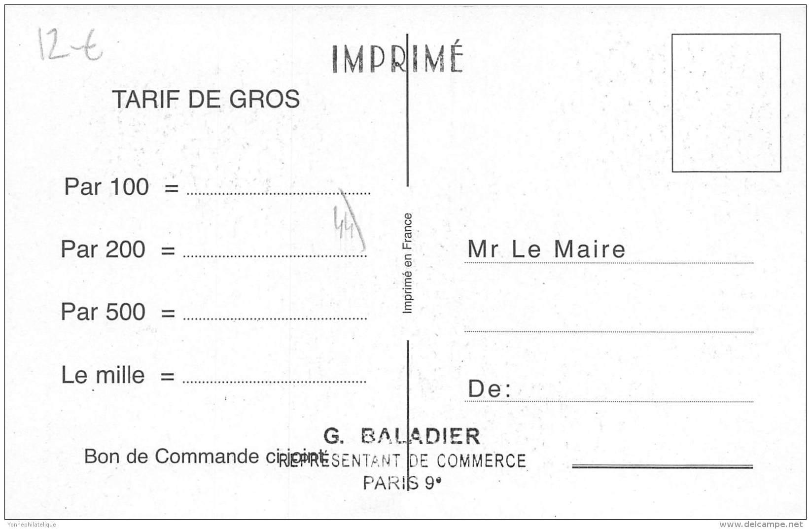 44 - LOIRE ATLANTIQUE / Fantaisie Moderne - CPM - Format 9 X 14 Cm - HAUTE GOULAINE - Altri Comuni
