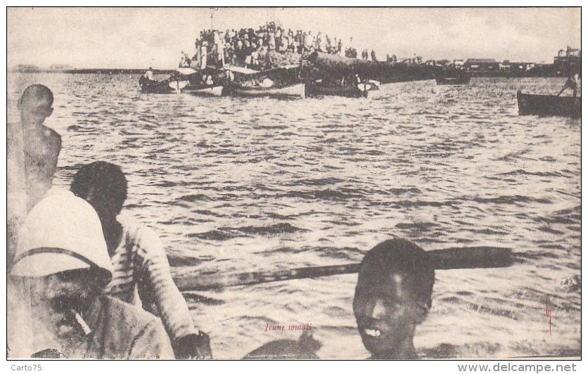 Somalie - Djibouti - Bâteaux - Jeune Somali - Colonial - Somalie