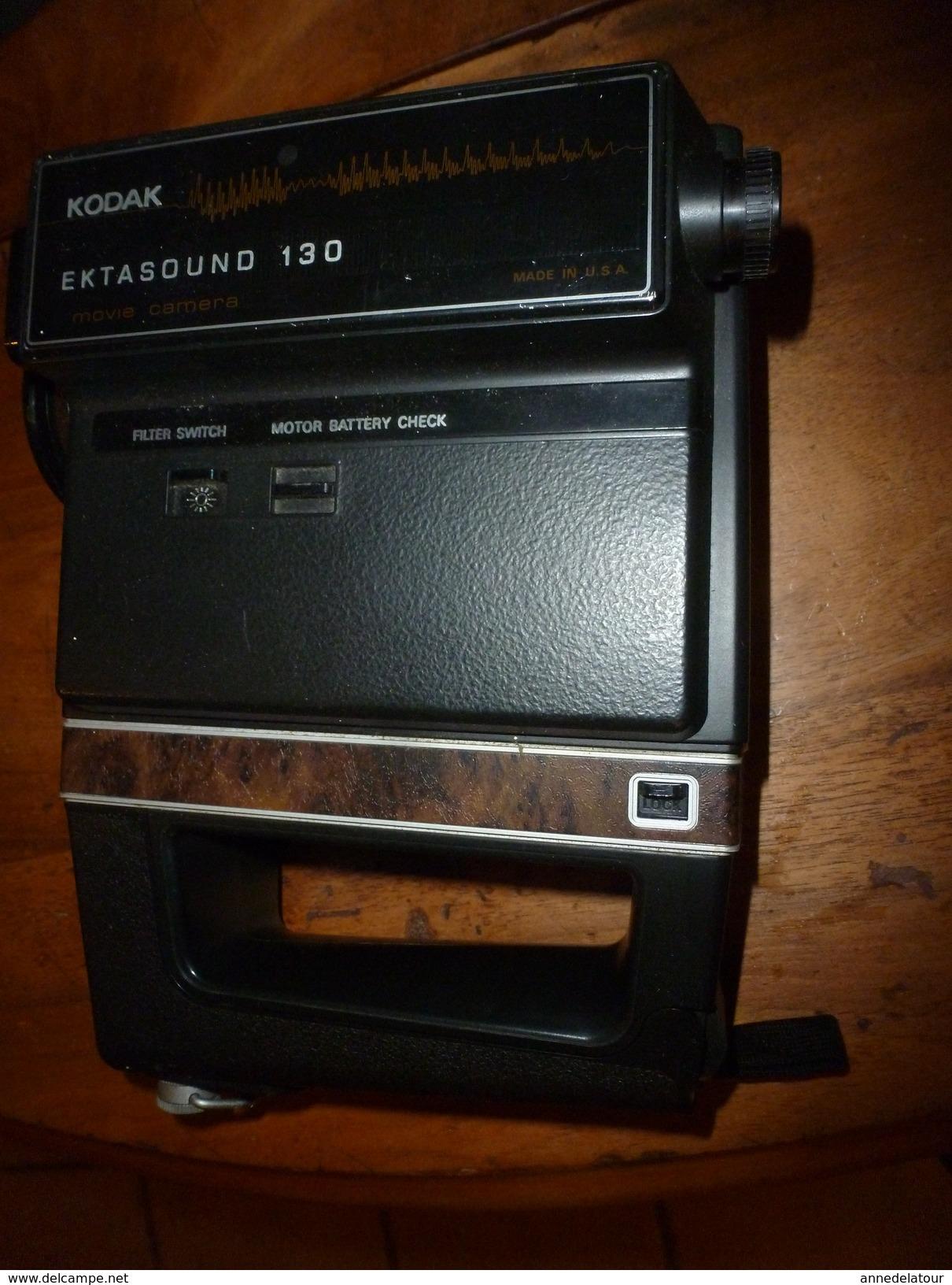 KODAK EKTASOUND 130 Movie Caméra :  Avec Notice Et Boite D'origine  (année De Fabrication Probable, Vers 1973) - Camcorder
