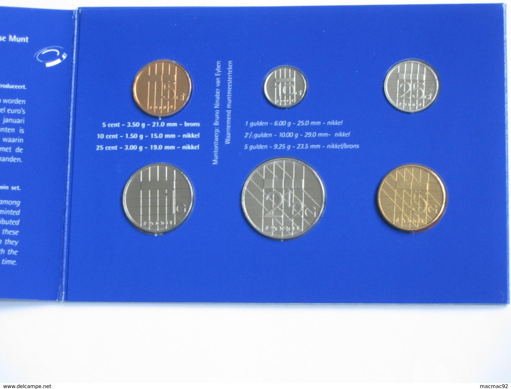 Coffret FDC 2000 PAYS BAS - Muntset Nederland - De Nederlandse Munt   **** EN ACHAT IMMEDIAT **** - [ 9] Mint Sets & Proof Sets