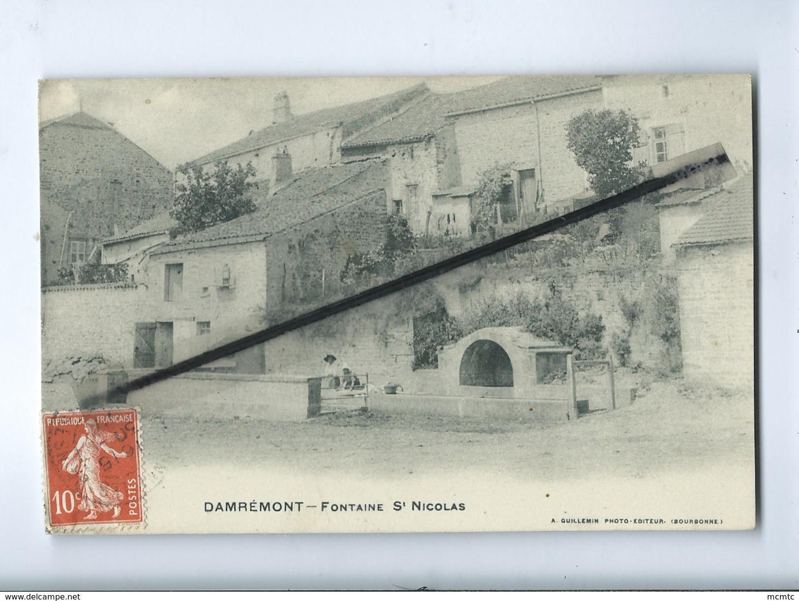 CPA -   Damrémont  -  Fontaine St Nicolas - France
