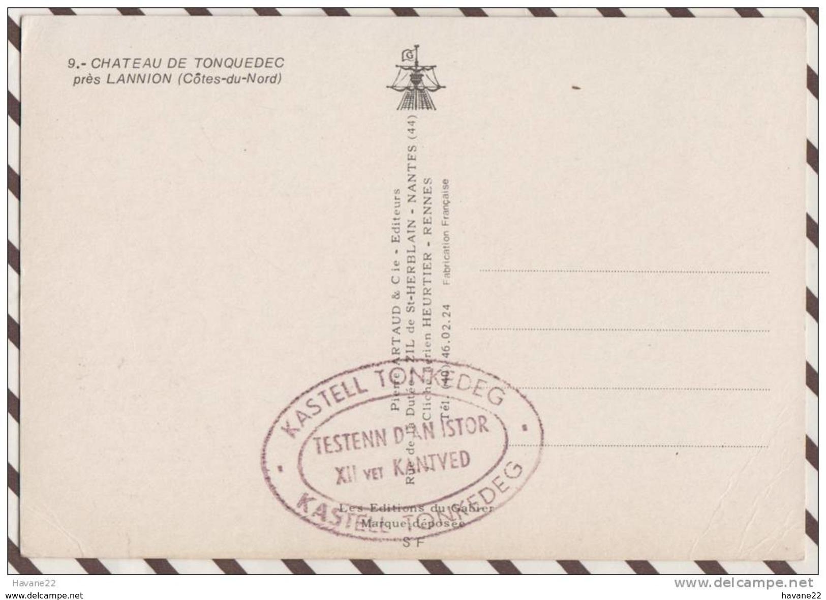 2X2642 CHATEAU DE TONQUEDEC PRES DE LANNION - Lannion