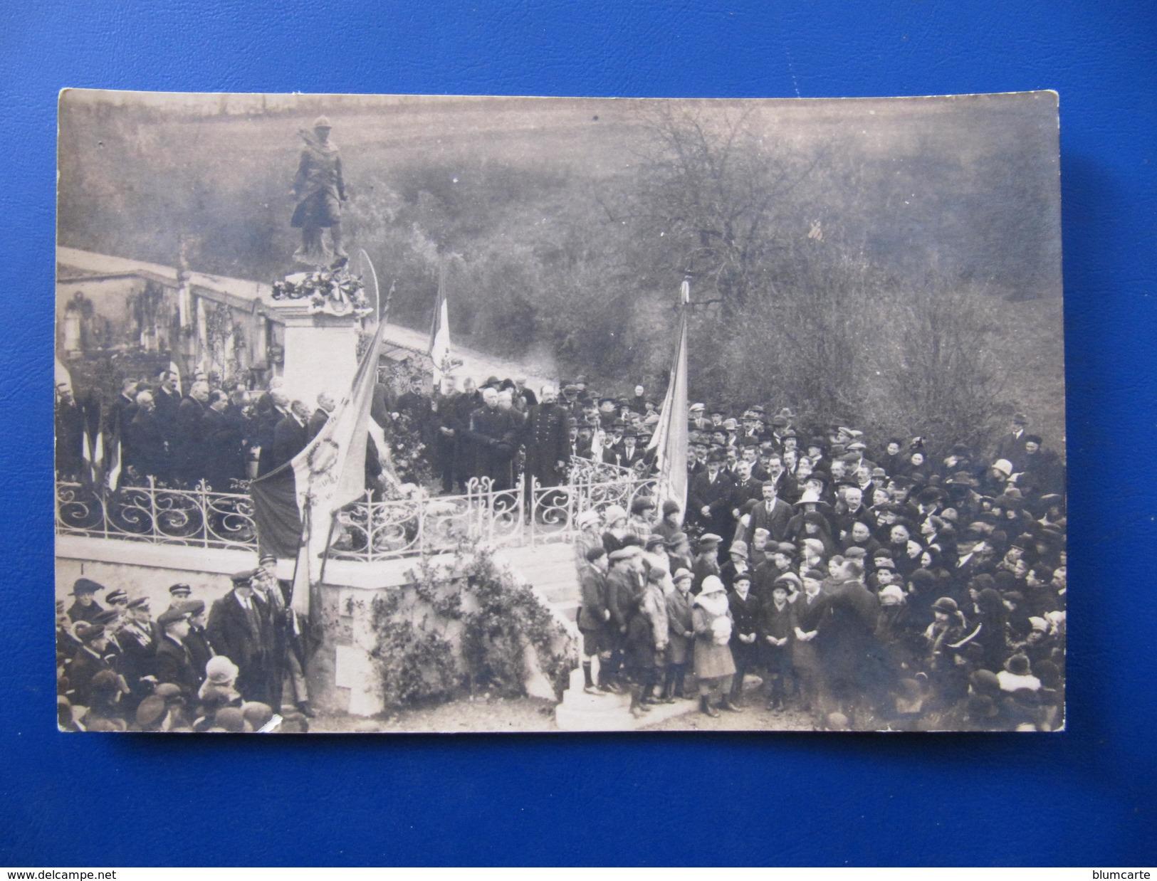 Carte Photo - LA CHAPELLE SAINT ANDRE En 1928 - France