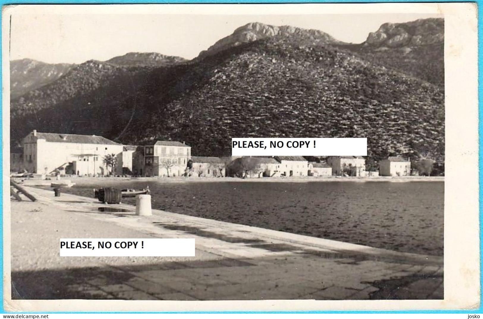 TRSTENIK - Peninsula Peljesac ... Near Dubrovnik  ( Croatia ) * Travelled - Croazia