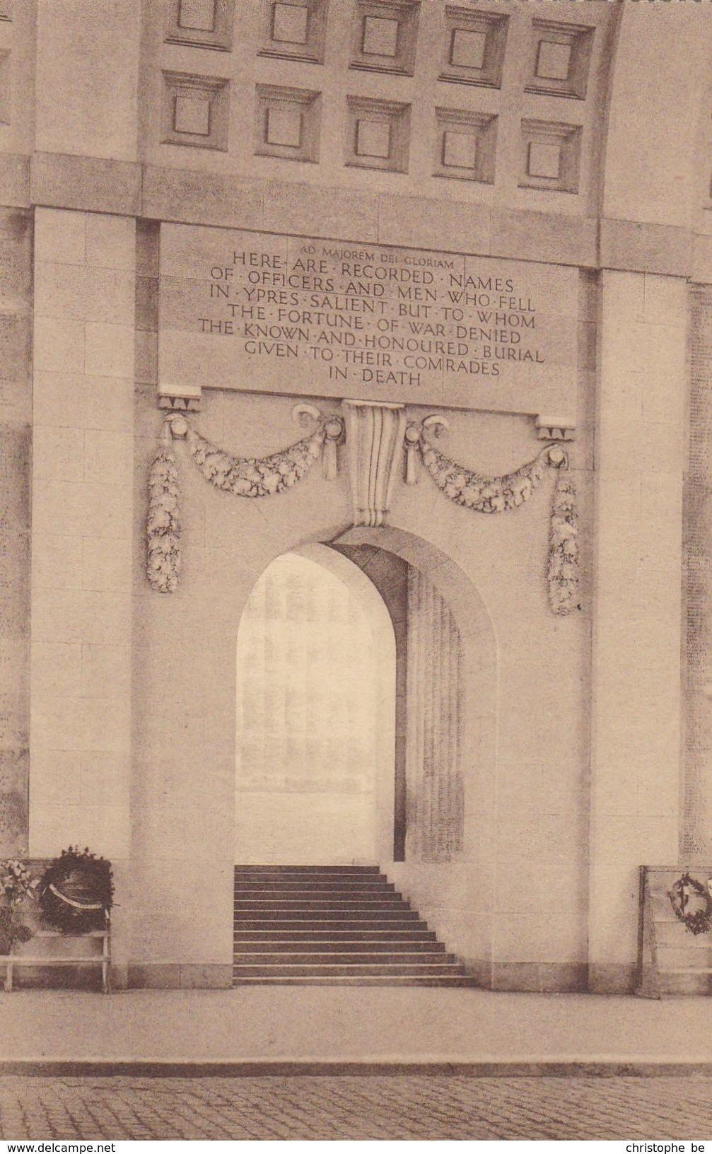 Ieper, Ypres, Menin Gate Memorial (pk34624) - Ieper