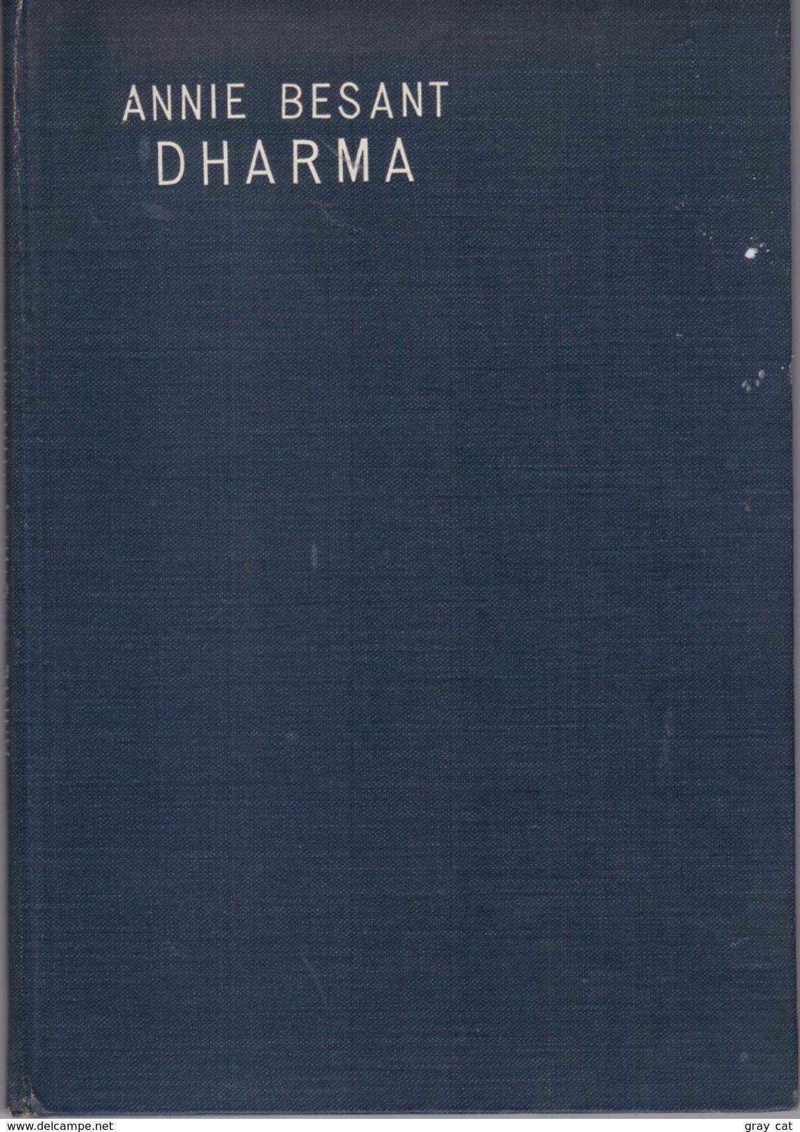 DHARMA By Besant, Annie - Books, Magazines, Comics
