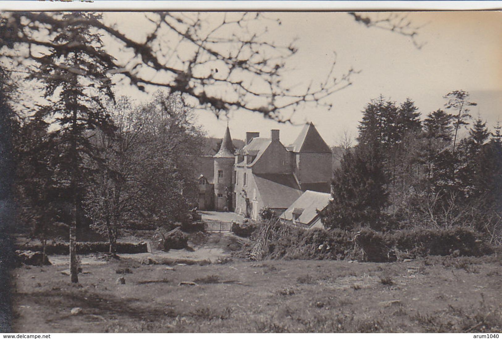 29 : Manoir Breton à Localiser - Photo Format 9x14 - Document Rare ! - France