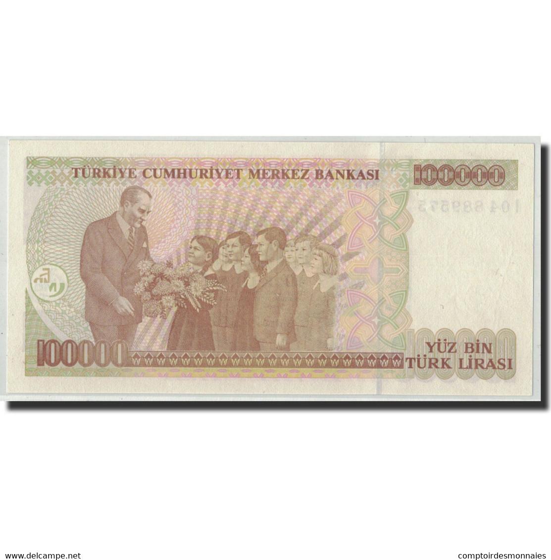 Turquie, 100,000 Lira, 1970, KM:206, 1970-01-14, NEUF - Turquie