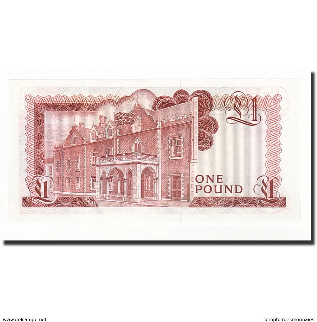 Gibraltar, 1 Pound, 1975-1978, KM:20a, 1975-11-20, SPL+ - Gibraltar