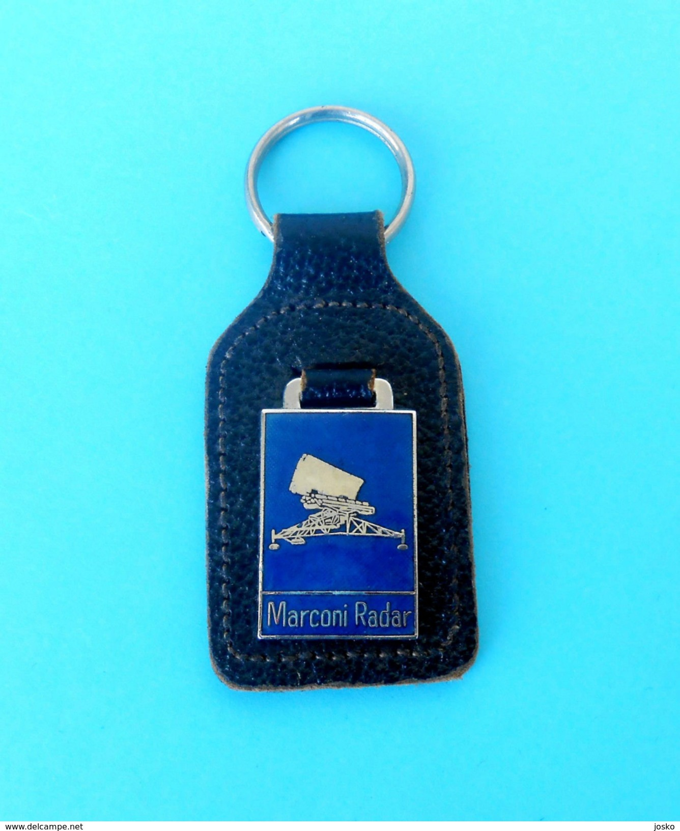 MARCONI RADAR ( Radio Detection And Ranging ) - Vintage Enamel Keychain *  Key-ring Porte-clés Schlüsselring Key-chain - Radio & TSF