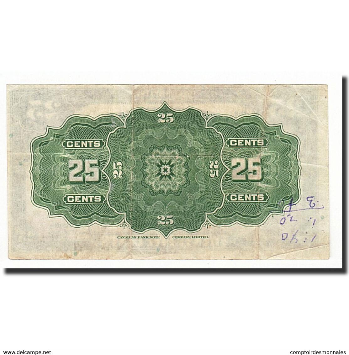 Canada, 25 Cents, 1923, KM:11b, 1923-07-02, TB - Canada
