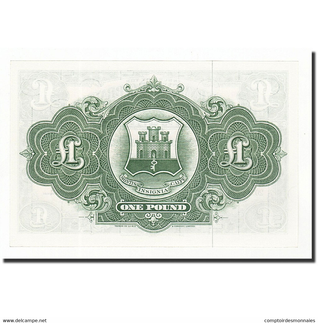 Gibraltar, 1 Pound, 1958-75, KM:18b, 1971-11-20, SPL+ - Gibraltar