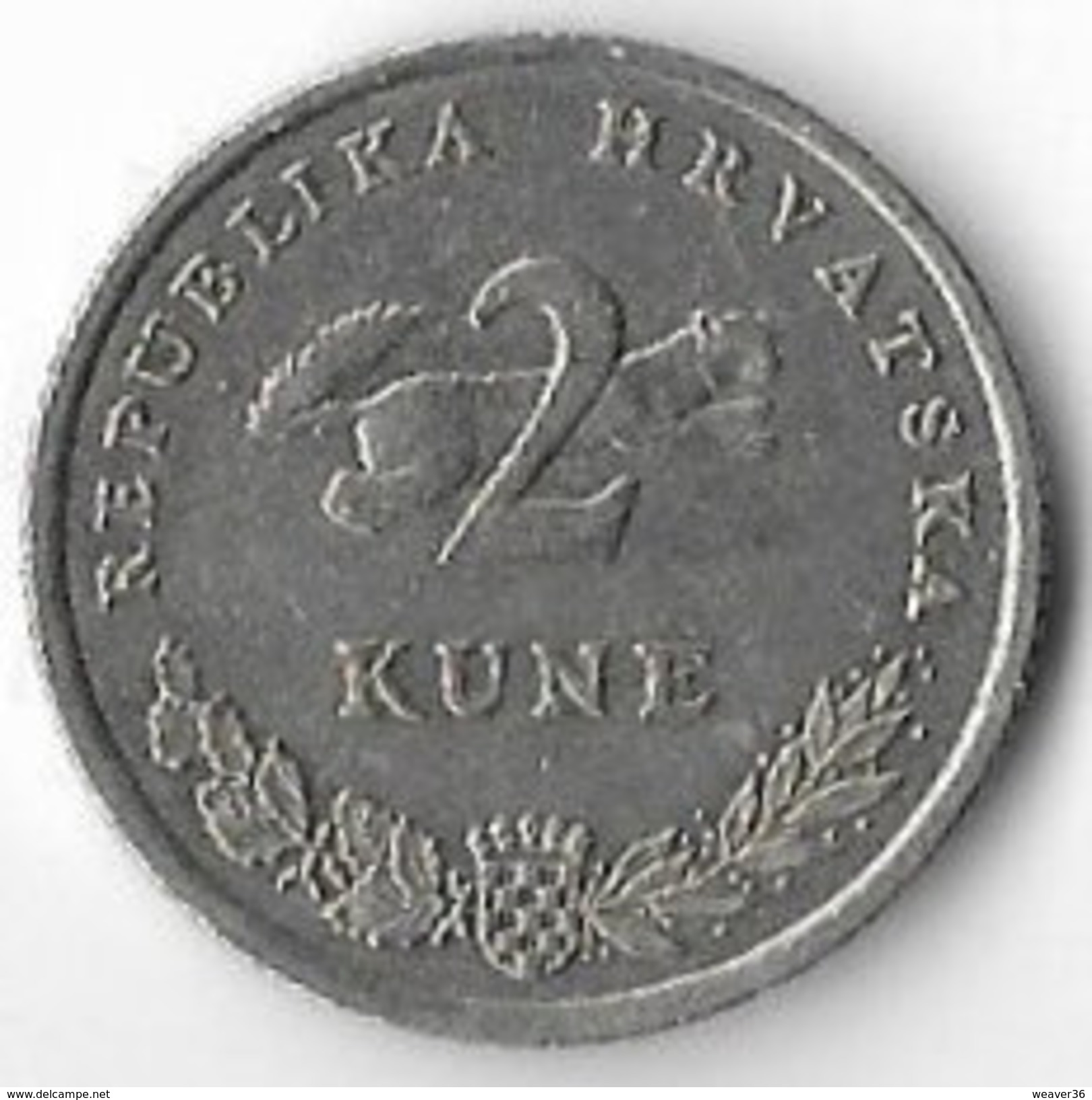 Croatia 2005 2 Kuna [C312/1D] - Croatia