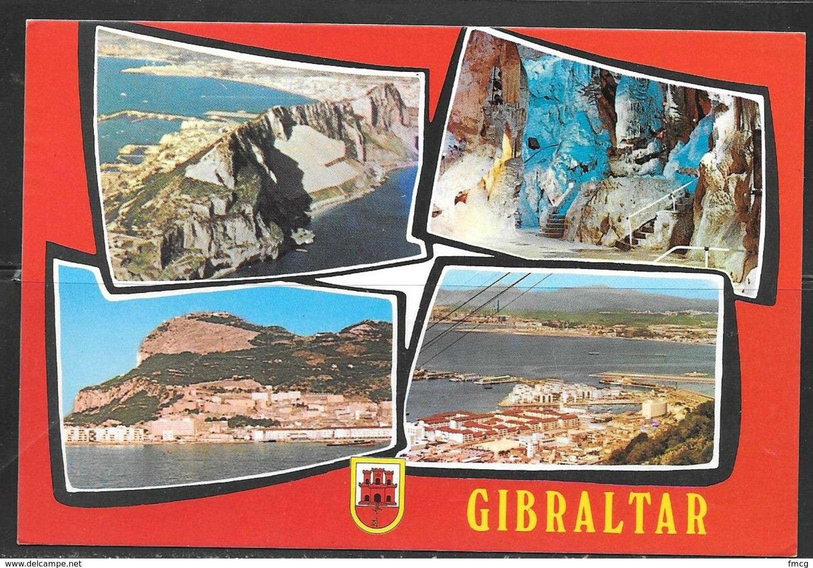 1981 Gibraltar, Multi-view Card, Mailed To West Germany - Gibraltar