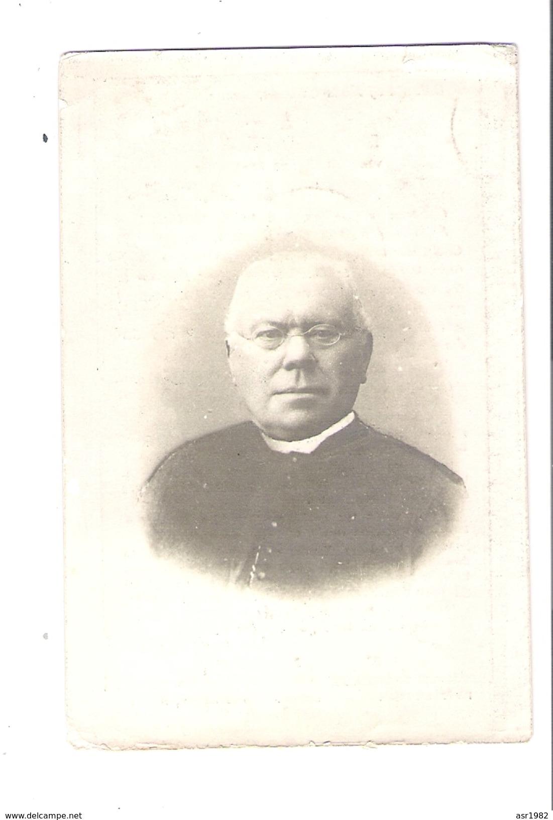 Doodsprentje Pastoor - Priester : Kalken-Nederzwalm-Tielrode-Vinkt-Geraardsbergen-Gontrode-Melle. - Religion & Esotericism