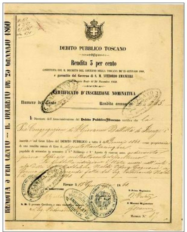 Italia, Regno V.E.II - Zonder Classificatie
