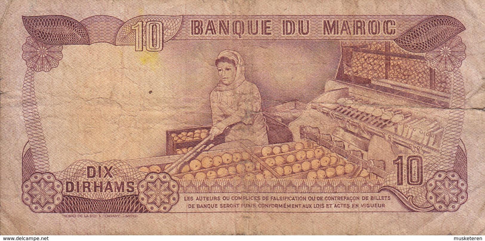 Morocco Maroc - 10 DIRHAMS (1970) BD/81 473168 (2 Scans) - Marocco