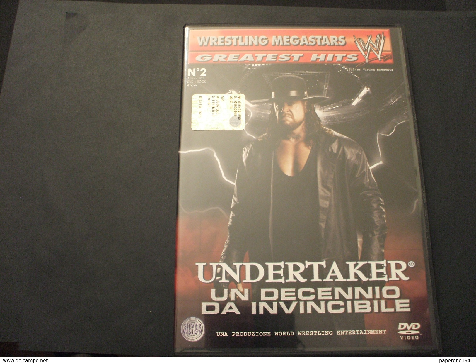 WRESTLING MEGASTARS . DVD VIDEO - N. 2 UNDERTAKER UN DECENNIO DA INVINCIBILE - NUOVO - Lotta (Wrestling)