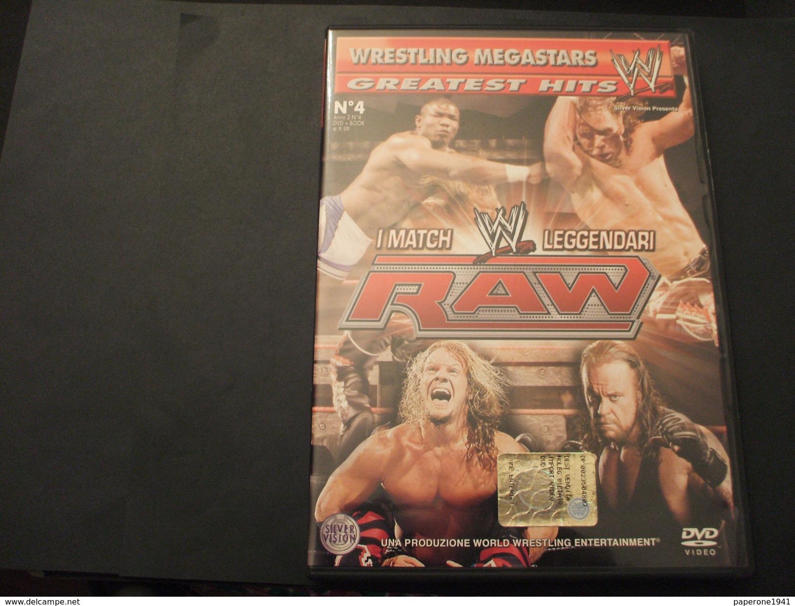 WRESTLING MEGASTARS . DVD VIDEO - N. 3 SMACK DOWN W I MATCH LEGGENDARI DI - NUOVO - Lotta (Wrestling)