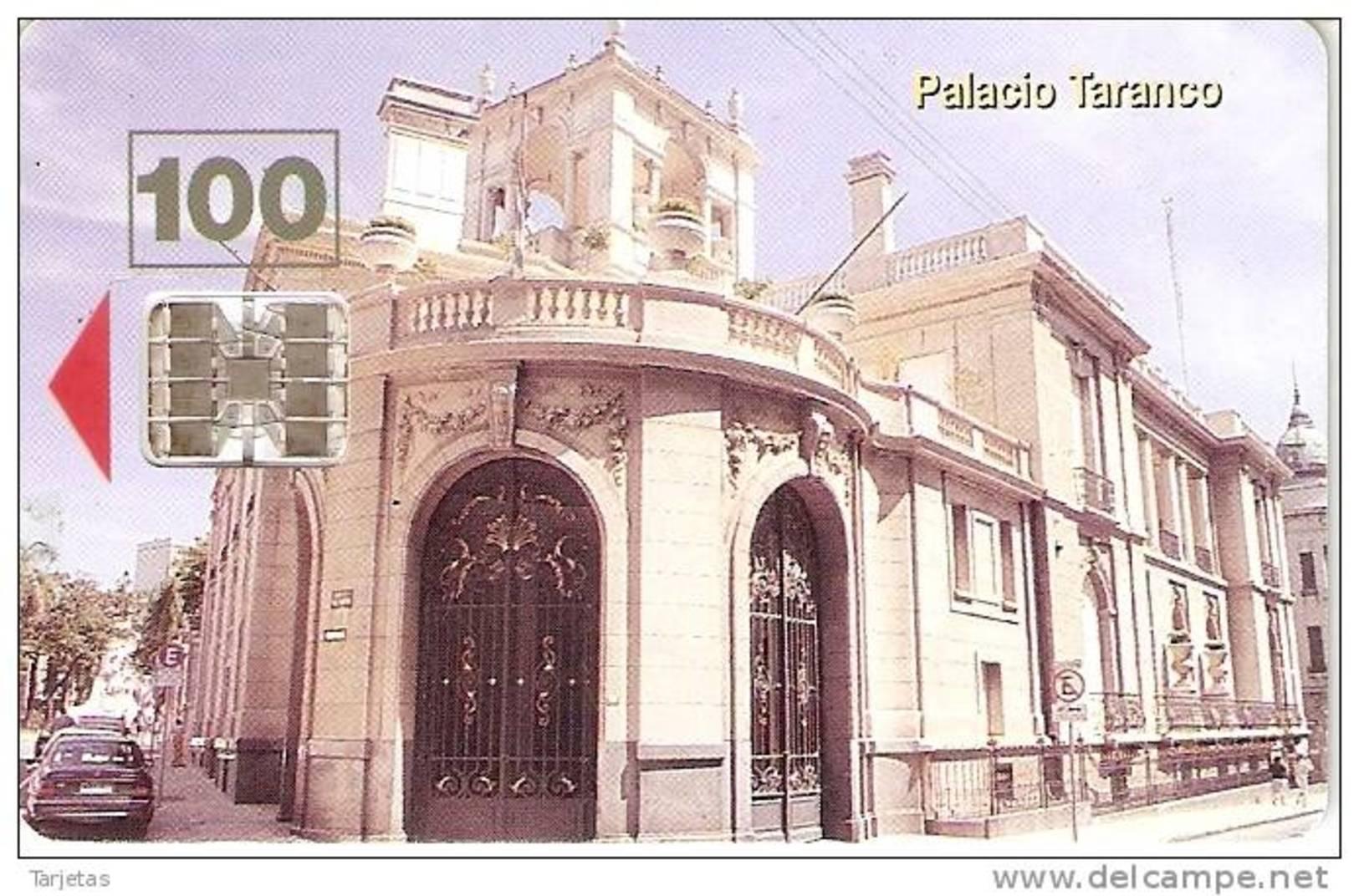 Nº 014 TARJETA DE URUGUAY DE EL PALACIO TARANCO - Uruguay