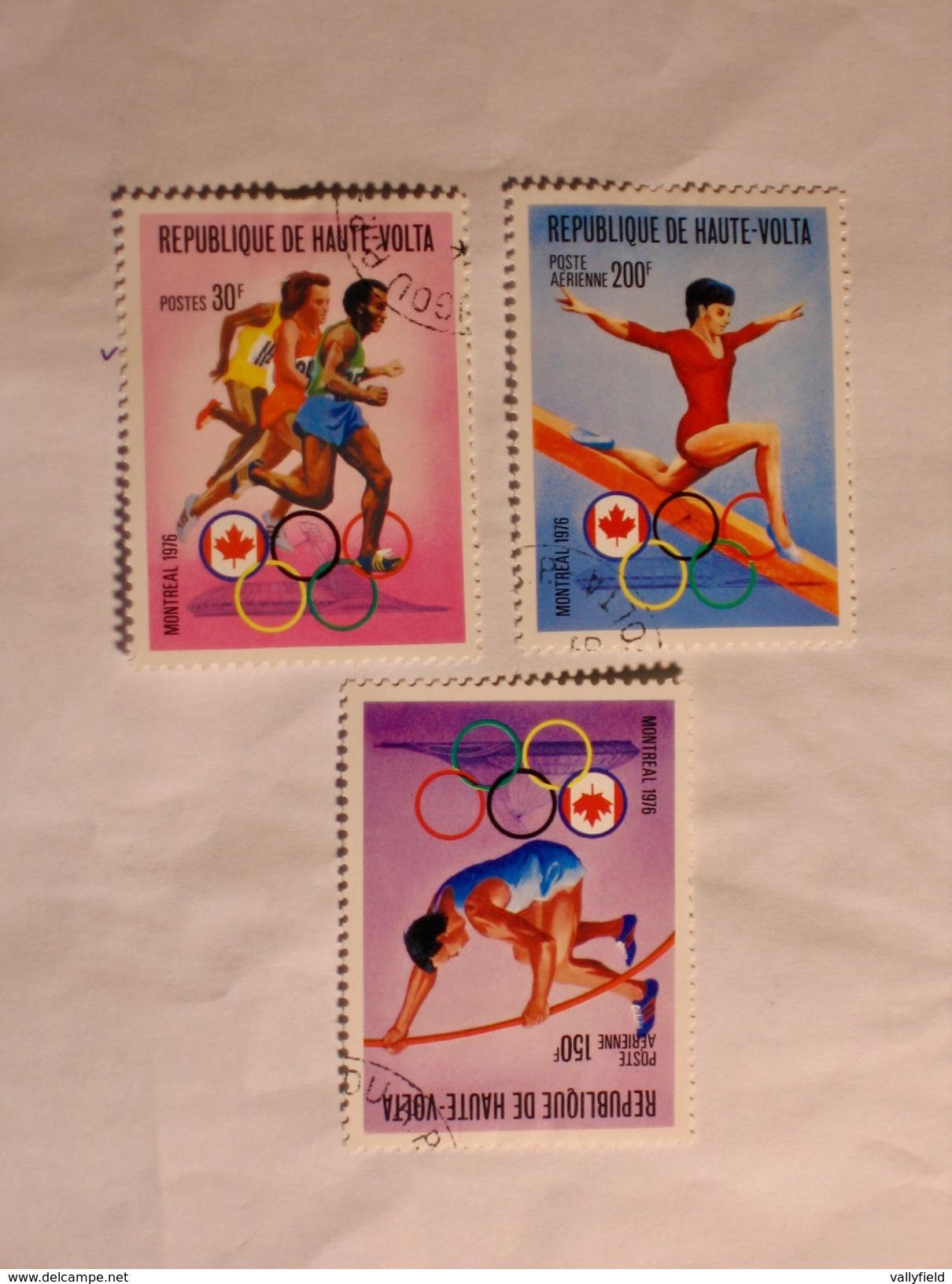 HAUTE-VOLTA  1976  LOT# 9  OLYMPIC - Haute-Volta (1958-1984)