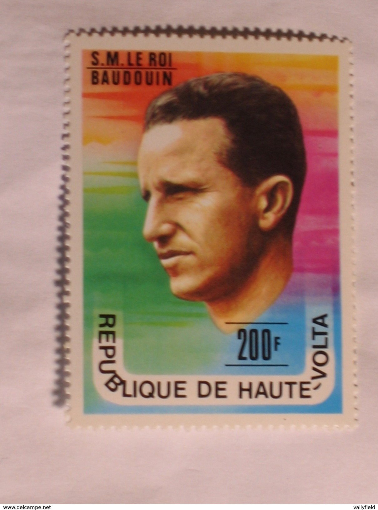 HAUTE-VOLTA  1977  LOT# 11  King Baudouin - Haute-Volta (1958-1984)