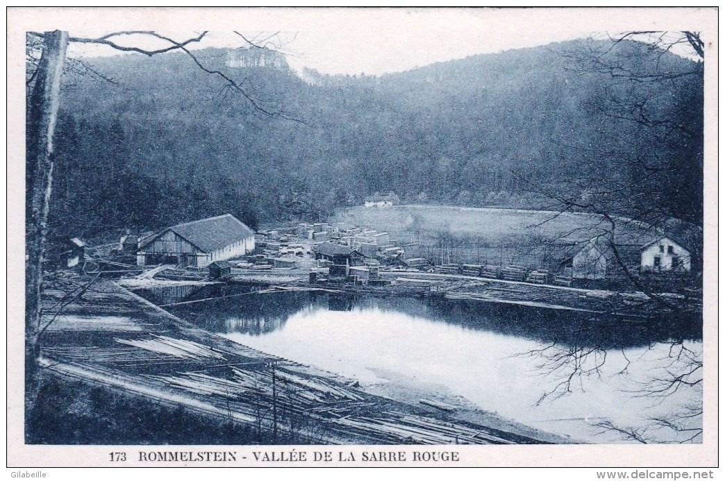 57 - Moselle - ROMMELSTEIN -  Vallée De La Sarre Rouge ( Scierie ) - Autres Communes