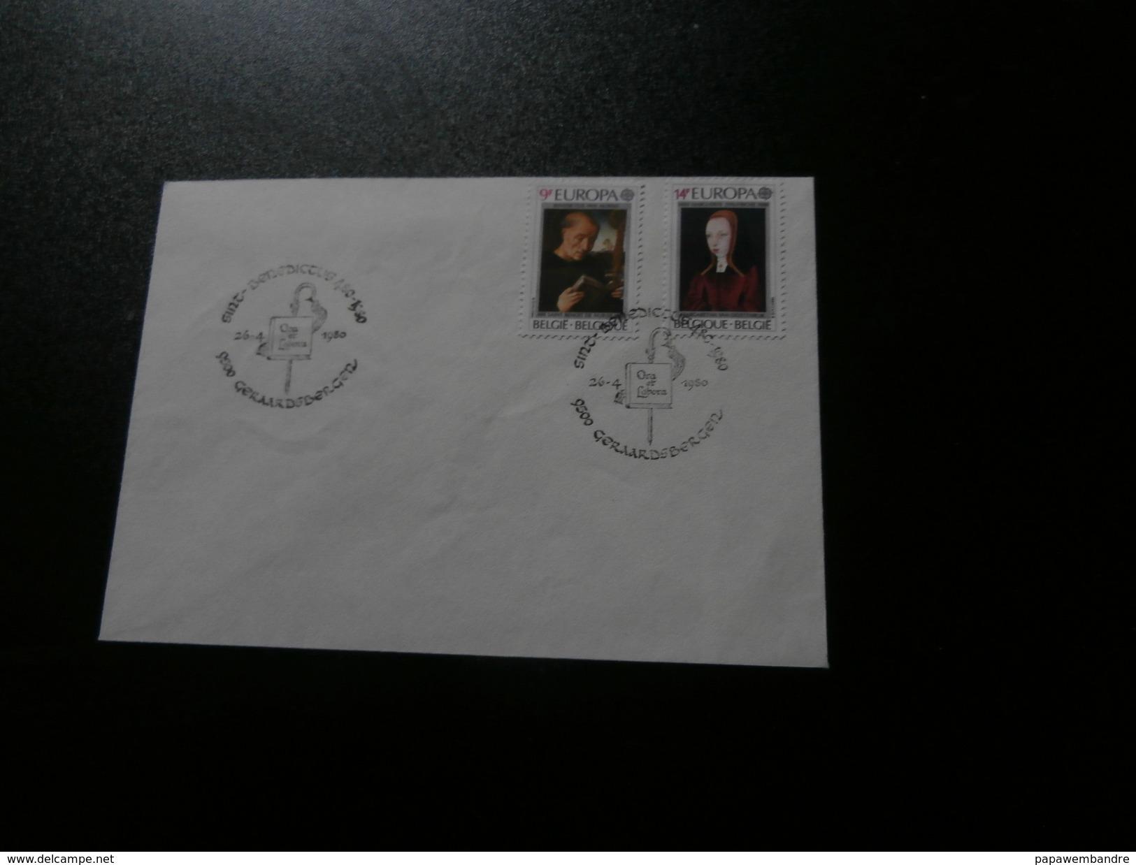 België : Eerste Dag Afstempeling St Benedictus Geraardsbergen 26/04/1980 Europa - Poststempels/ Marcofilie