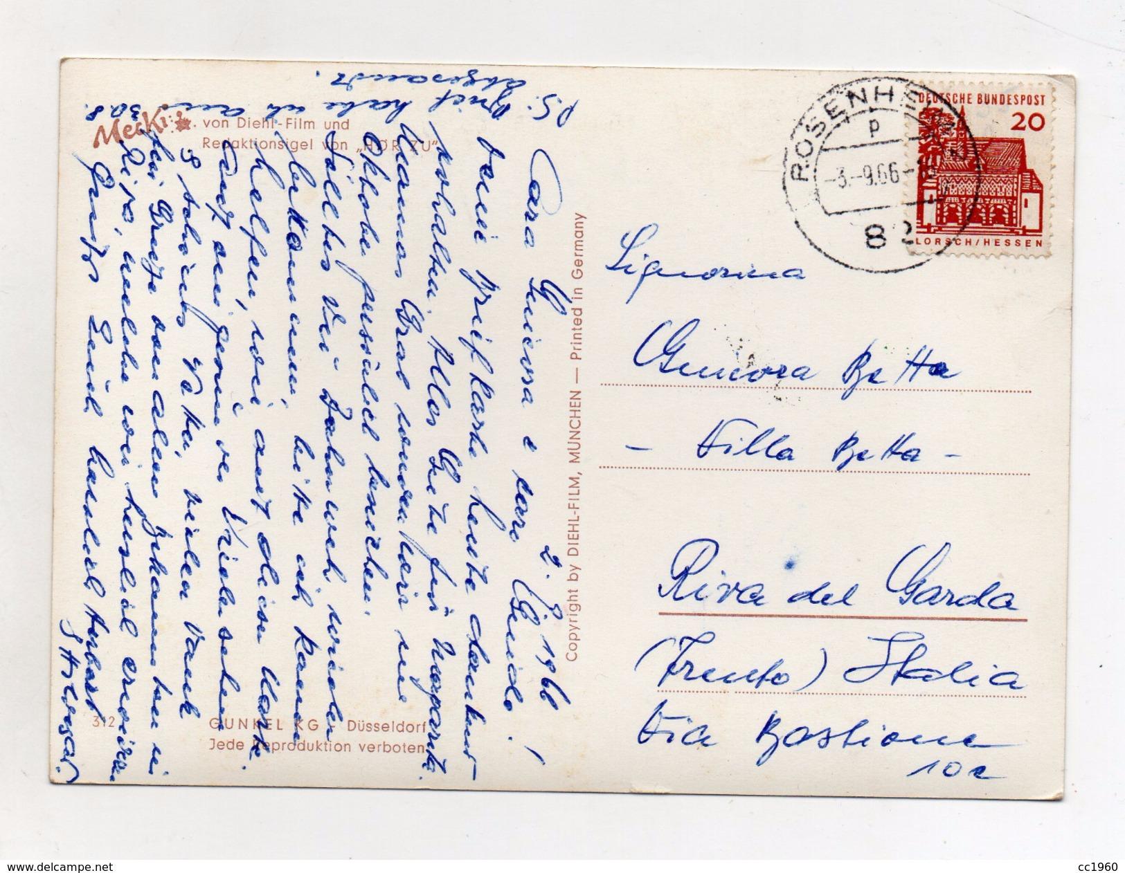 MECKI - Rasche Hilfe Tut Not - Viaggiata Nel 1966 - (FDC4414) - Cartolina Nr. 312 - Mecki