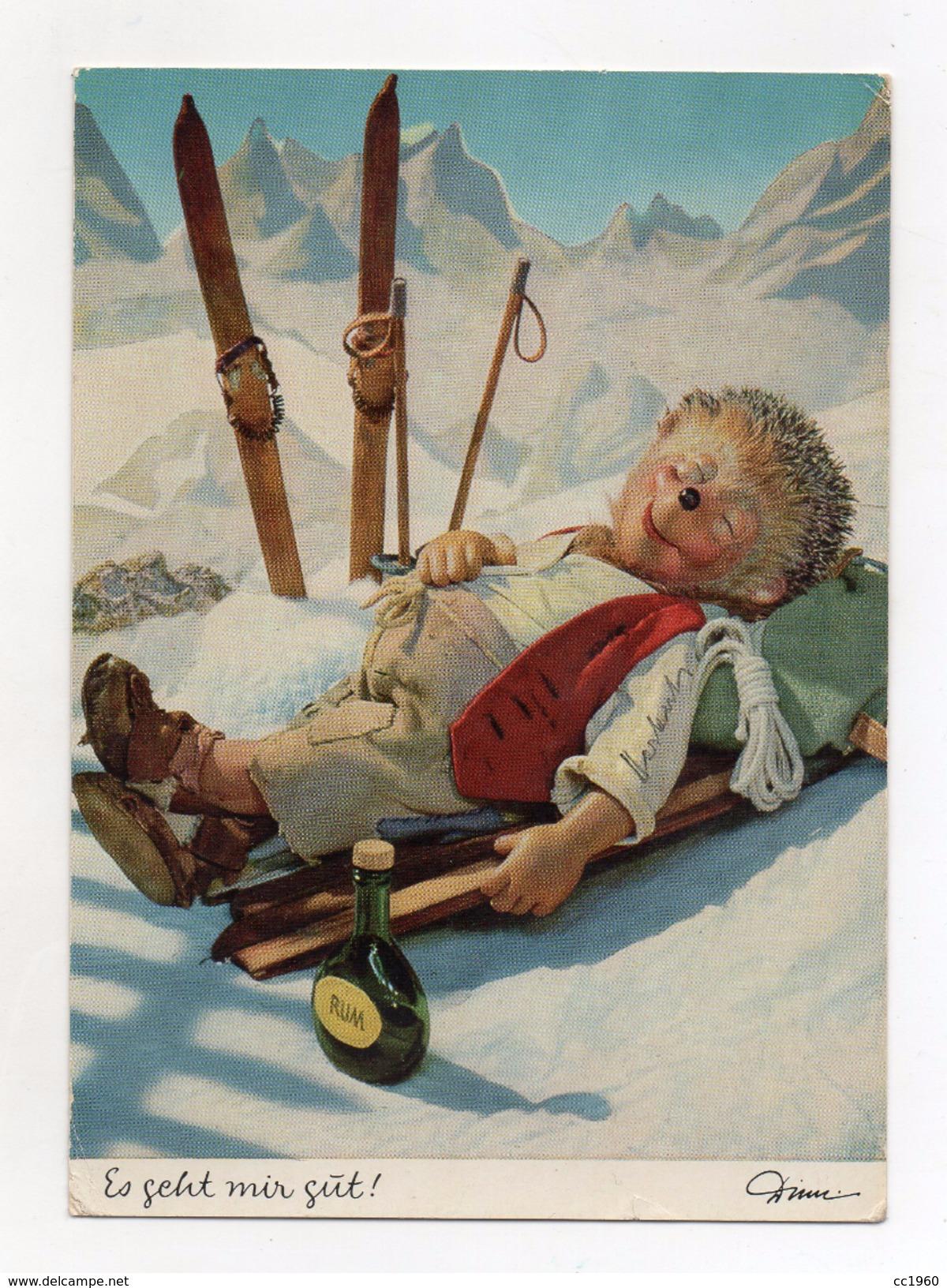MECKI - Es Ghet Mir Gut ! - Viaggiata Nel 1972 - (FDC4415) - Cartolina Nr. 328 - Mecki