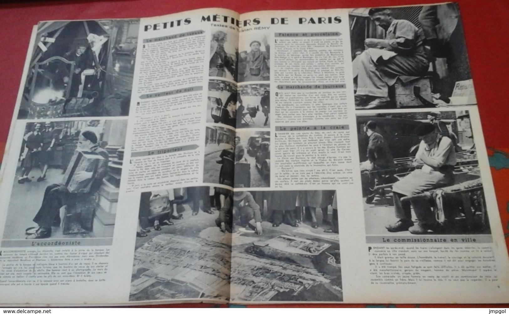 Regards N°153 9 Juillet 1948 La Turquie Dans La Nuit Féodale, Petits Métiers De Paris,Edward G. ROBINSON - Bücher, Zeitschriften, Comics