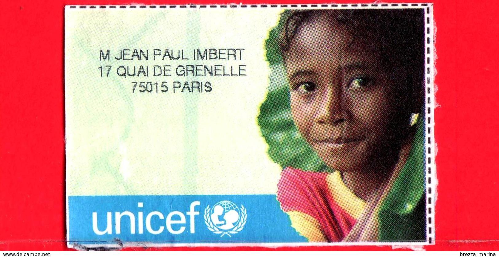 Etichette Di Fantasia -  - UNICEF - Altre Collezioni