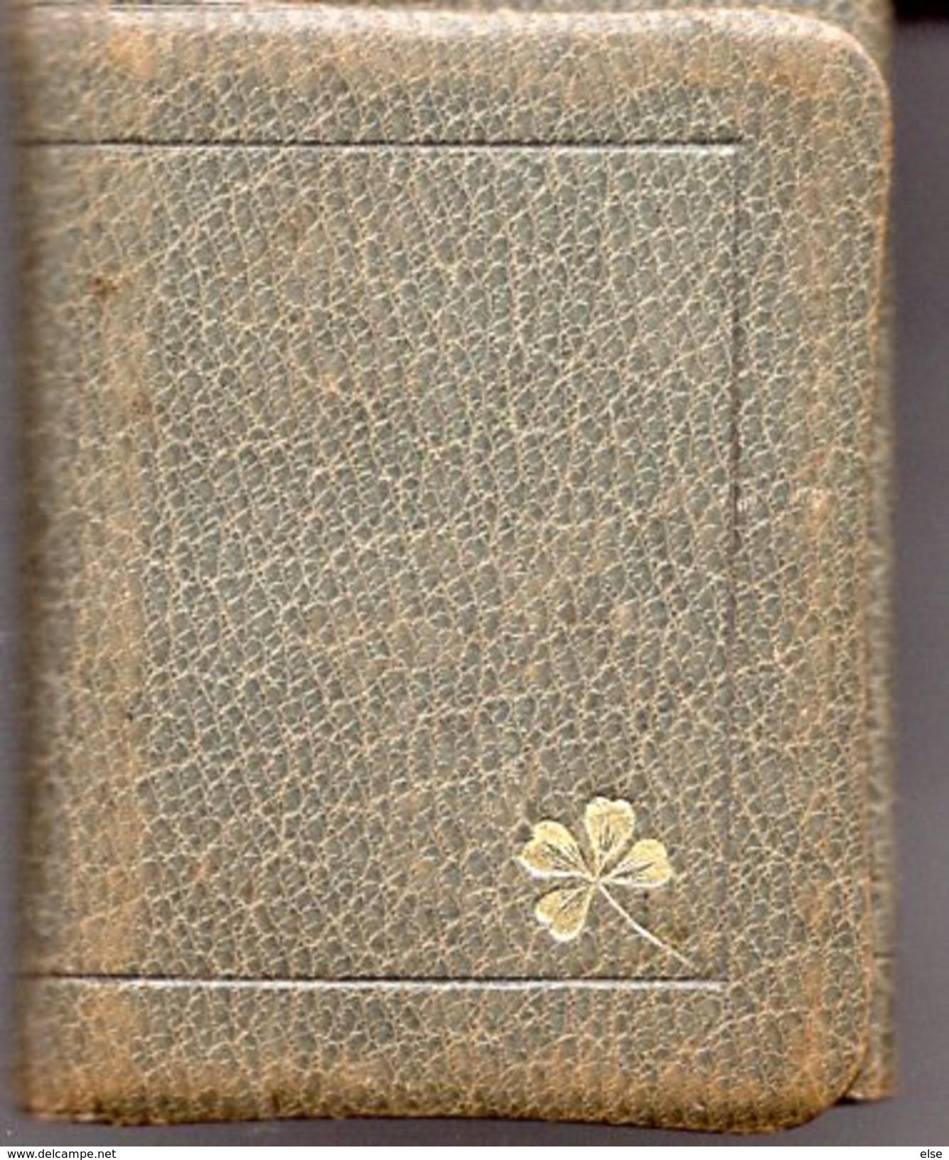 PETIT ALMANACH 1911 CALENDRIER AVEC NOTES 3 VOLETS     PUBLICITAIRE LIBRAIRIE Vve DUVAL  PAU - Klein Formaat: 1901-20
