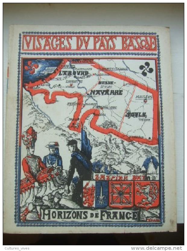 Visages Du Pays Basque - Livres, BD, Revues