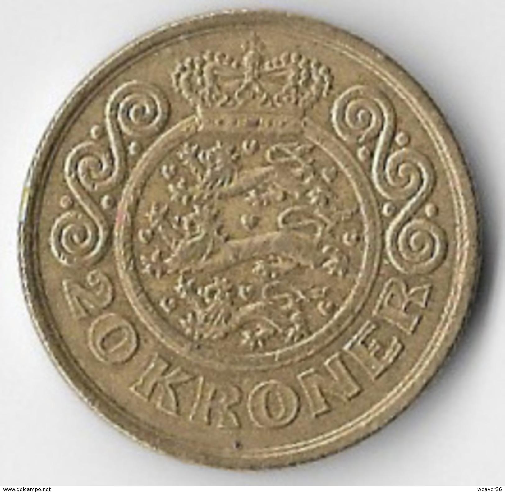Denmark 1996 20 Kroner [C443/2D] - Denmark