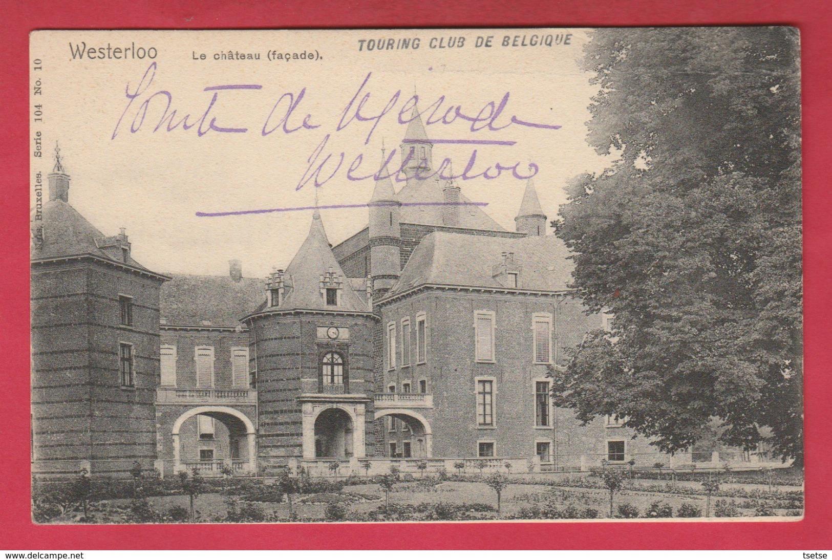 Westerloo - Het Kasteel / Le Château ( Façade ) ( Verso Zien ) - Westerlo