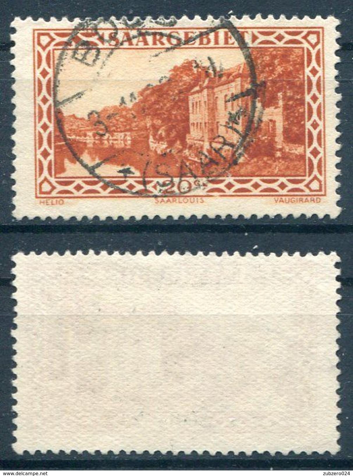 Saargebiet Michel-Nr. 110 Vollstempel - 1920-35 Saargebiet – Abstimmungsgebiet