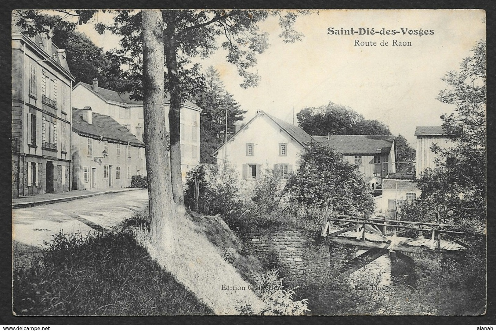 SAINT DIE Des VOSGES Rare Route De Raon () Vosges (88) - Saint Die