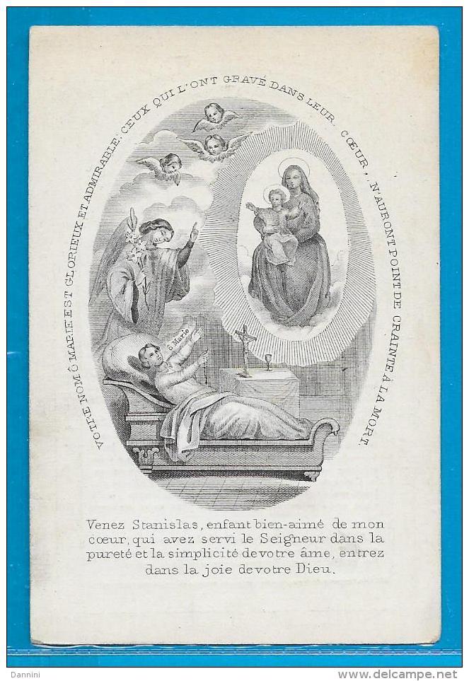 Souvenir Pieux De Stanislas-Joseph-M.-G. De Potter - Château De Cluysen - Gand - 1838 - 1854 - Devotion Images