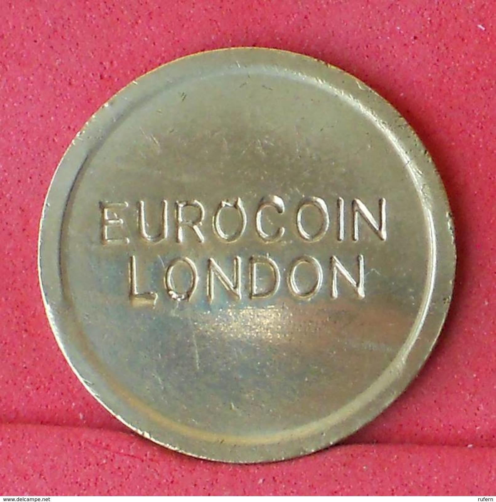 GREAT BRITAIN    - LONDON EUROCEIN    - (Nº18245) - Professionnels/De Société